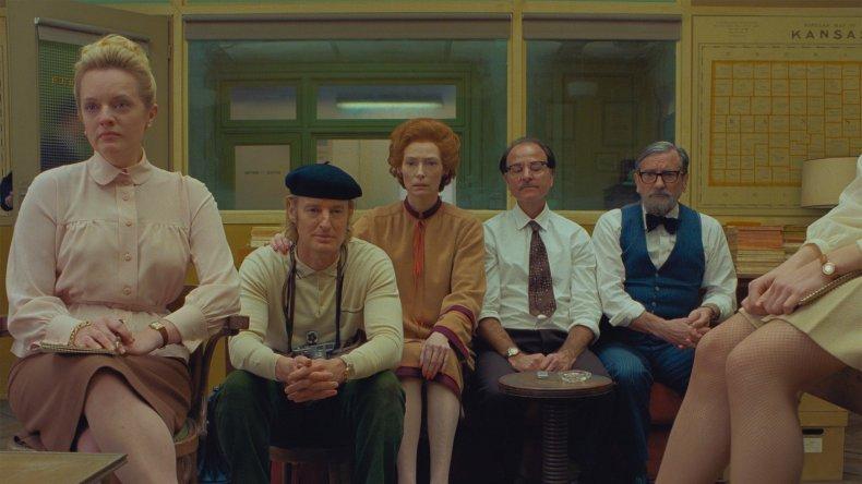 The cast of La Dépêche française