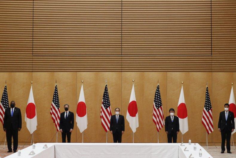 U.S. and Japan Officials Meet In Tokyo