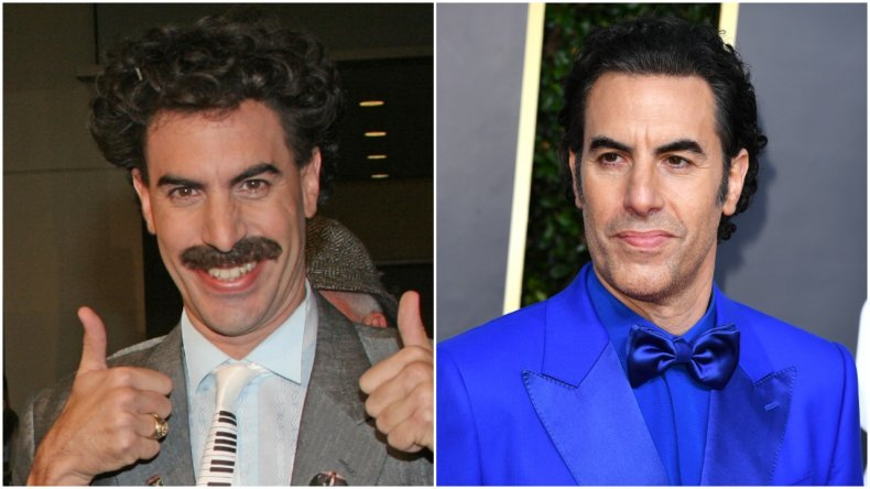 """""""Borat"""" star Sacha Baron Cohen"""