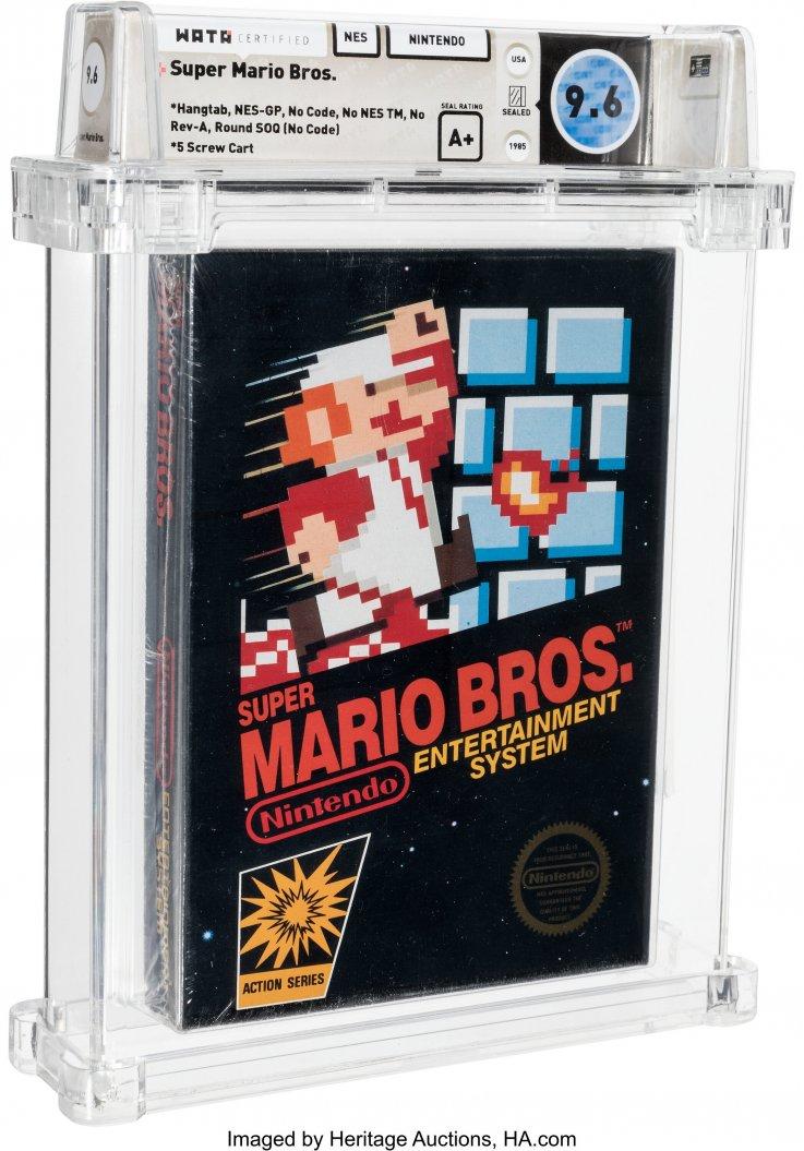 Super Mario Bros. NES Cartidge