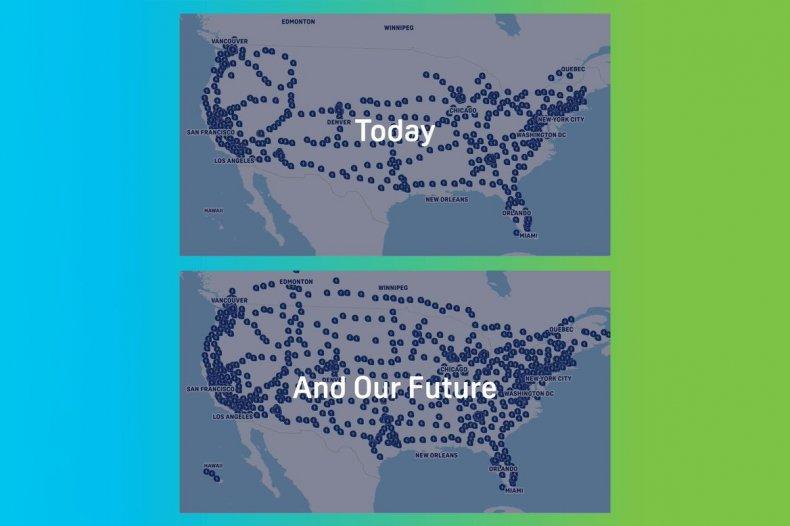 Electrify America 2021 vs 2025
