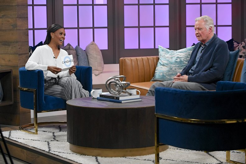 Candace Owens and Jon Voight