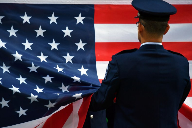U.S. flag at Rio Olympics