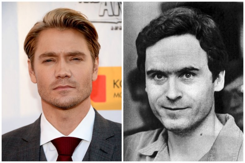 Chad Michael Murray and Ted Bundy