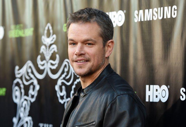 Matt Damon at The Leisure Class premiere