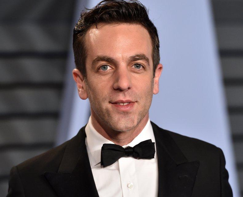 BJ Novak at Vanity Fair Oscars party