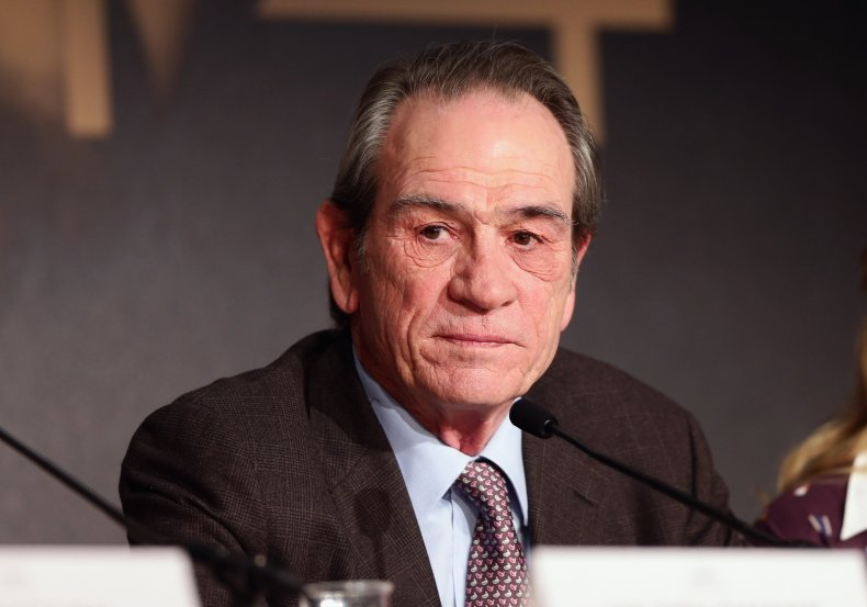 Tommy Lee Jones at Cannes press conference