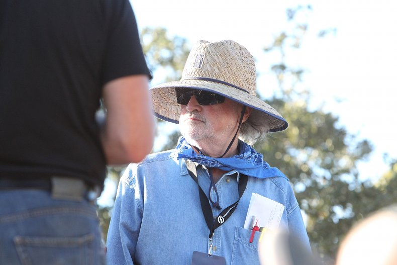 Terrence Malick filming in Texas