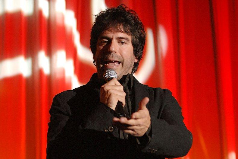 Greg Giraldo performing stand-up