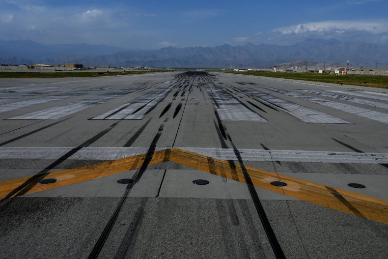 Bagram, Air, Base, empty, after, US, exit