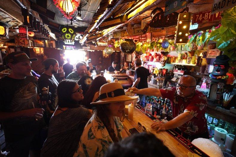 Bar in California