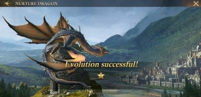 Dragon Evolution in King of Avalon