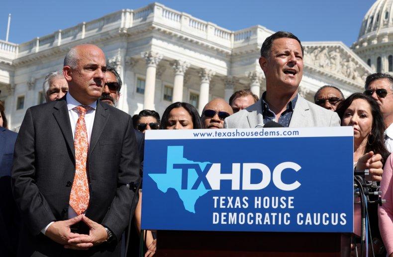 Texas Democrats Speak in Washington, D.C.