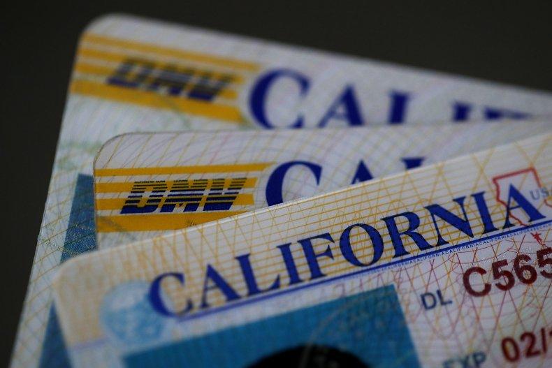 California driver licenses
