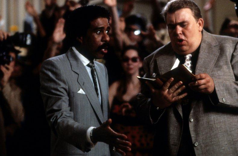 Richard Pryor, John Candy in Brewster's Millions