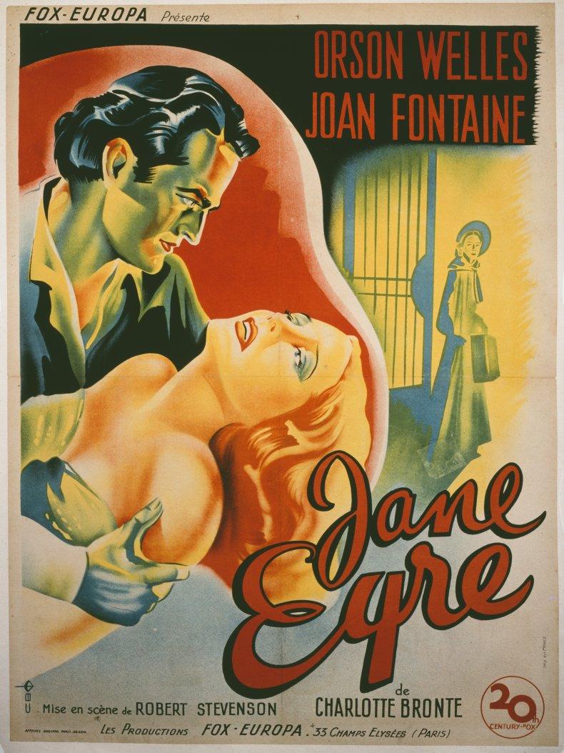 jane Eyre movie poster