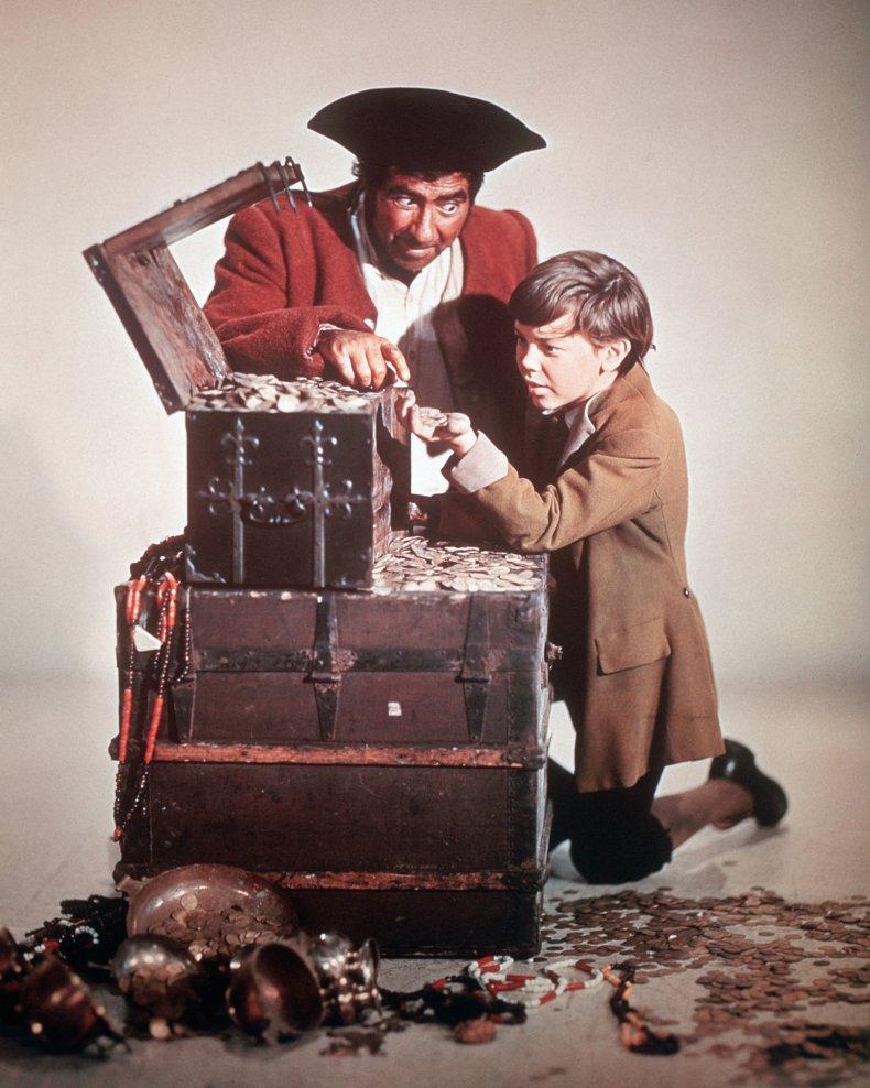 Robert Newton in Treasure Island