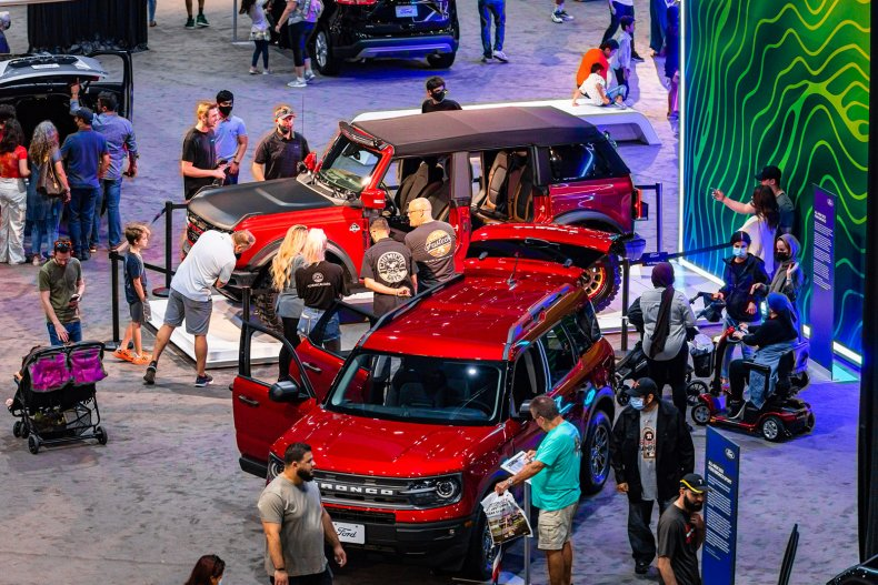 2021 Houston Auto Show display