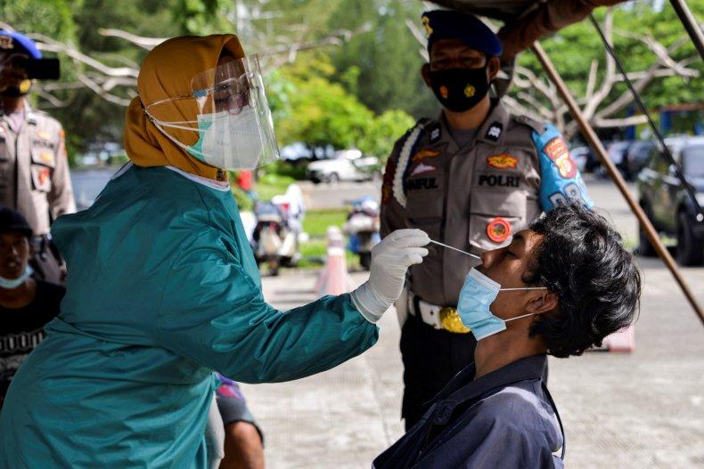 Indonesia COVID Testing