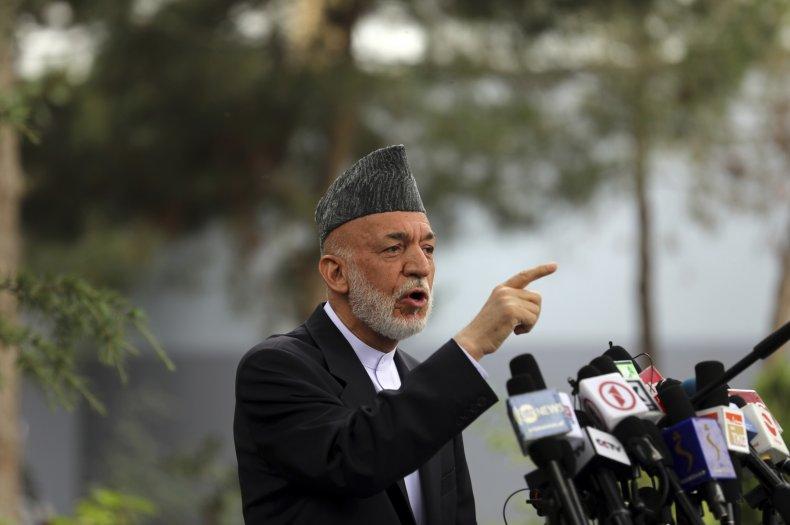 Former President Karzai