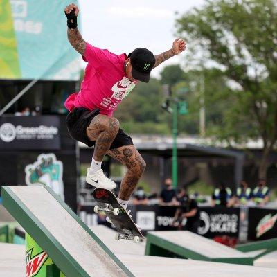 US skateboarder Nyjah Huston