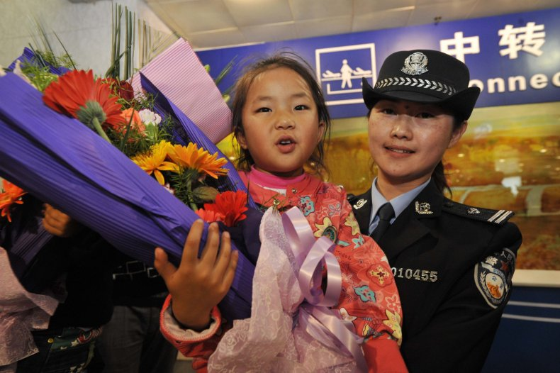 Abducted child rescued by police