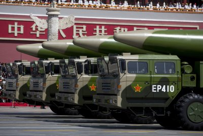 China Reveals Nuclear-Capable Ballistic Missiles