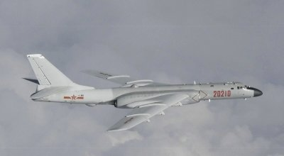 Chinese Bomber Detected Near Sea of Japan