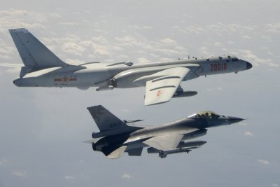 Taiwan Intercepts Chinese Nuclear-Capable Bomber