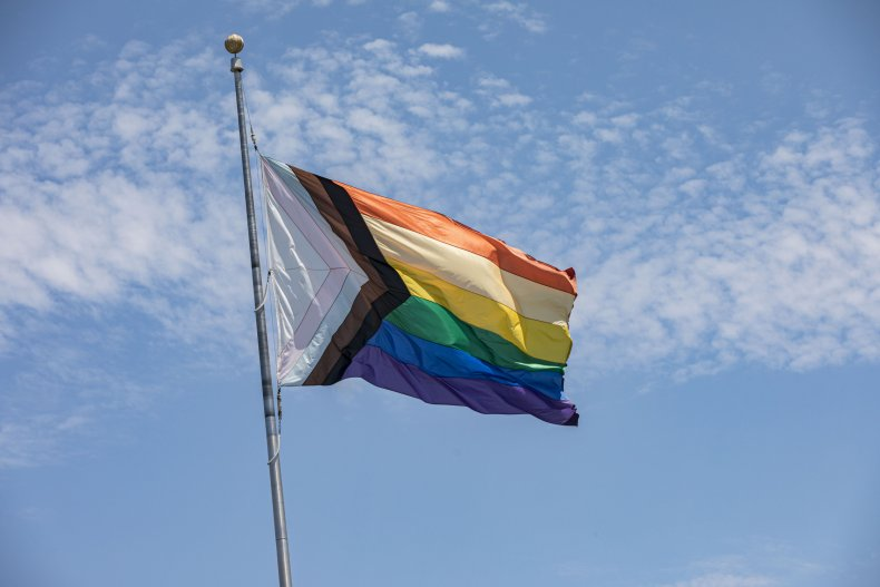 San Diego pride flag
