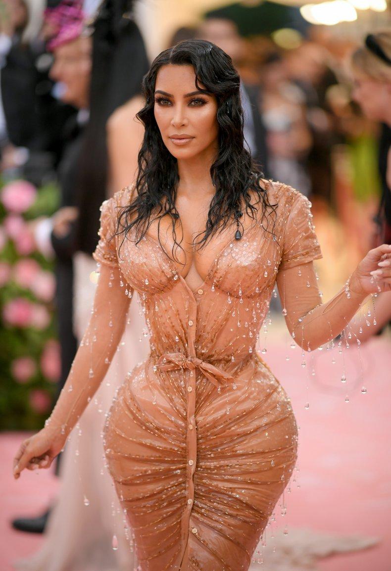Kim Kardashian at 2019 Met Gala