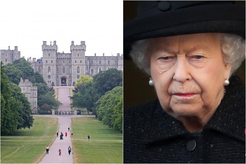 Queen Elizabeth II and Windsor Castle