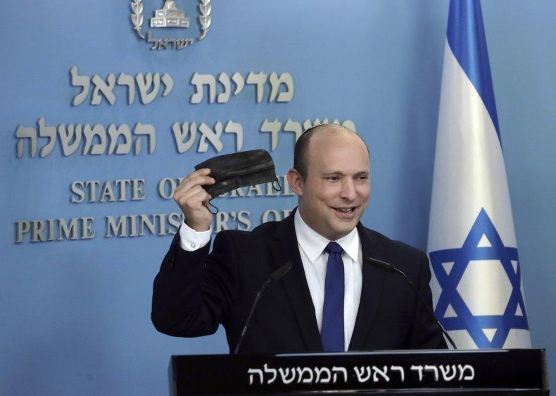 Israel PM Naftali Bennett