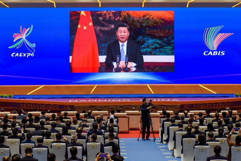 China, President, Xi, Jinping, addresses, ASEAN