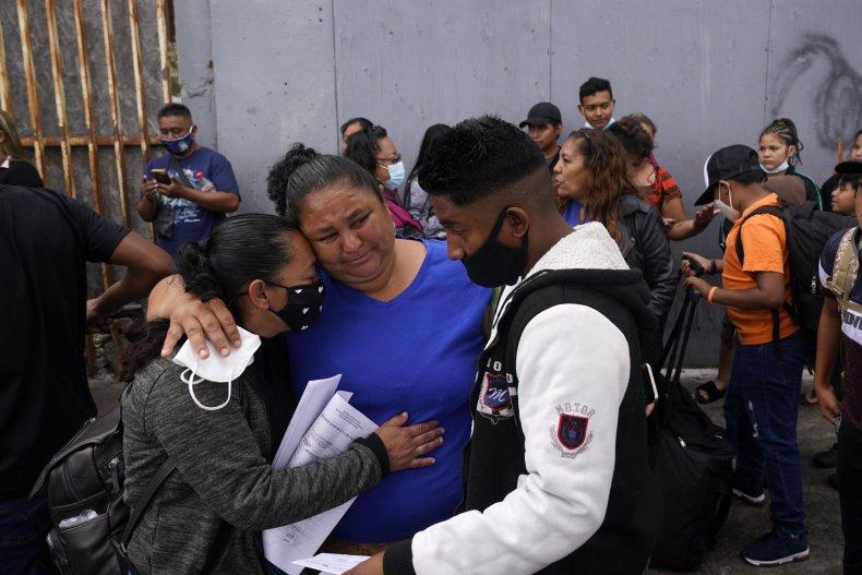 Migrant family