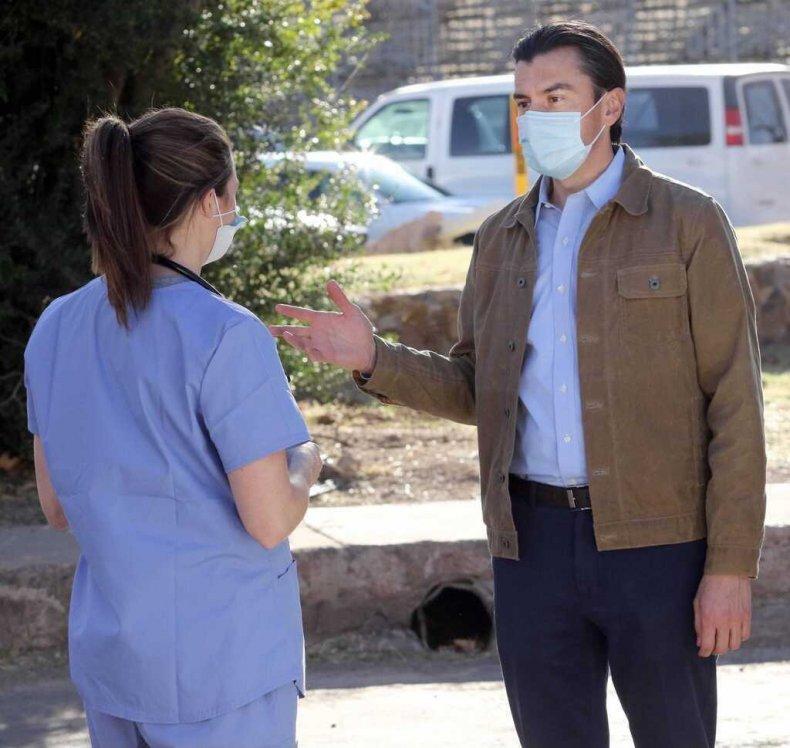 Marco Lopez healthcare worker