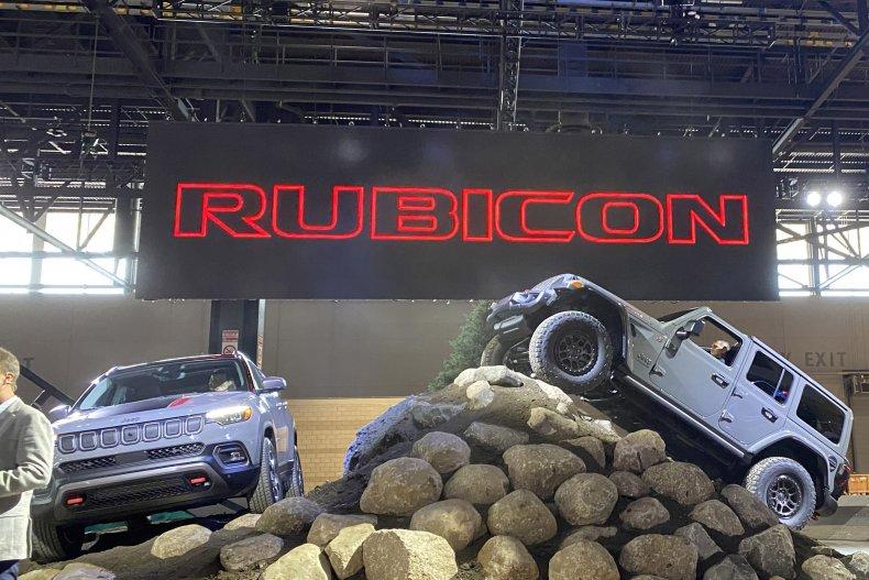 Jeep Compass Wrangler Rubicon