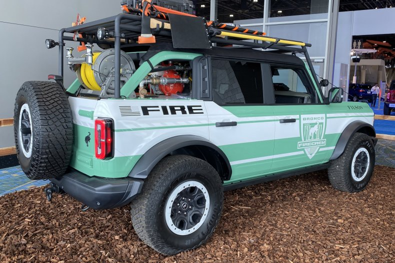 Ford Bronco + Filson Wildfire Rig