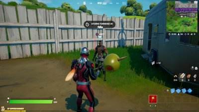 Joey Spawn Point in Fortnite