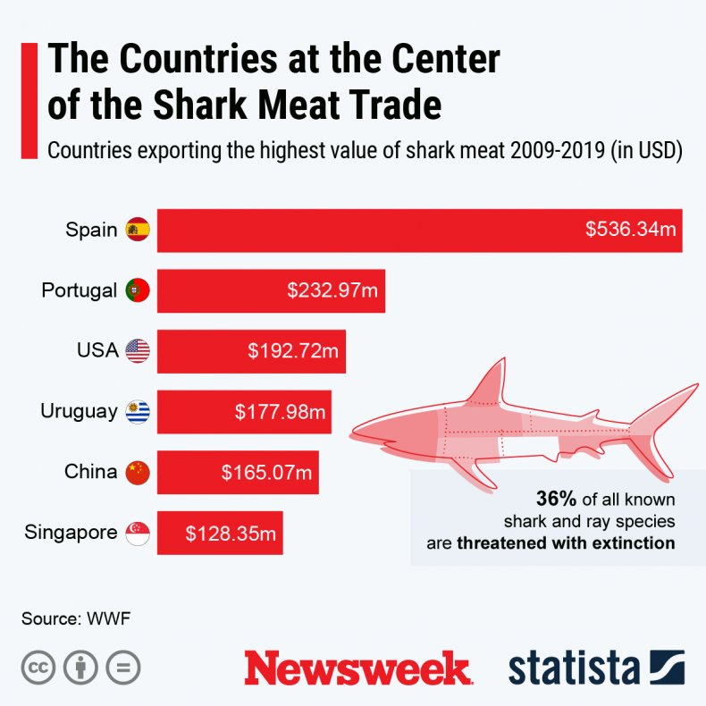 Newsweek Shark Week Statista