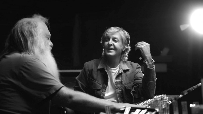 Rick Rubin and Paul McCartney
