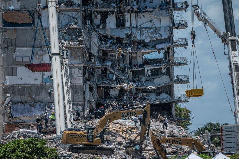Surfside collapse 911 calls