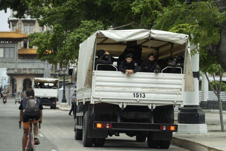 Cuba Law Enforcement