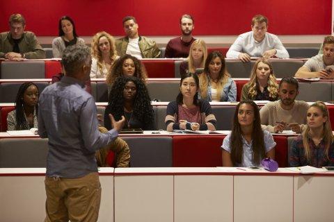 PLUS: College lecture