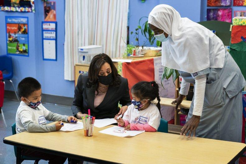 Kamala Harris school child tax credit