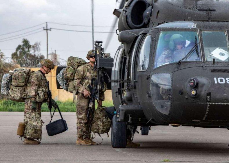 US, Forces, transfer, authority, Iraq, K1, Base