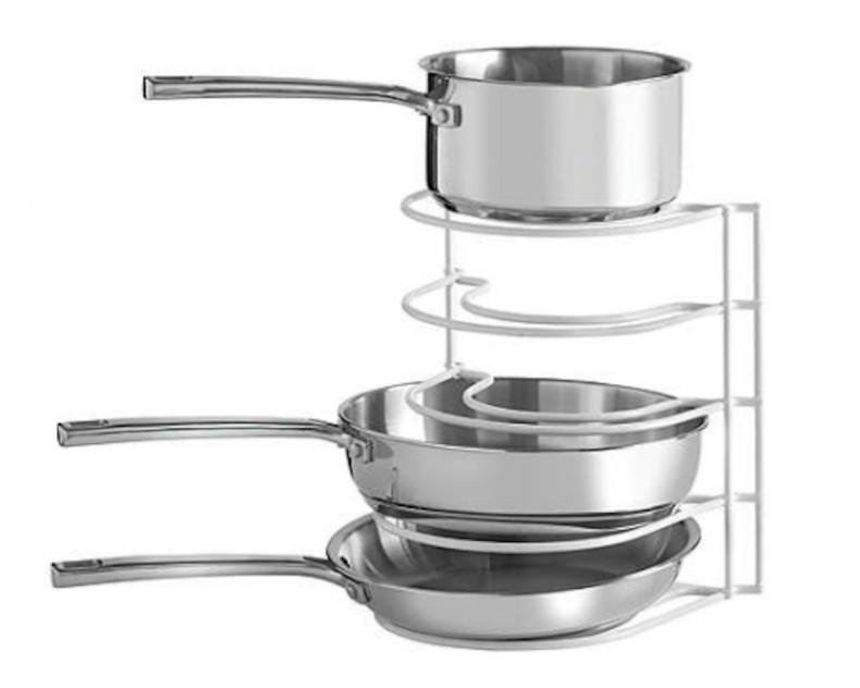 best home organization pot rack