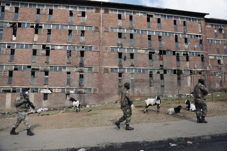 2200 Injured, 117 Killed in South Africa