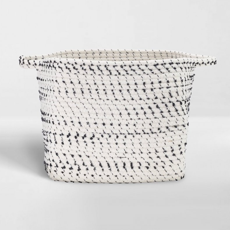 best home organization products rope bin