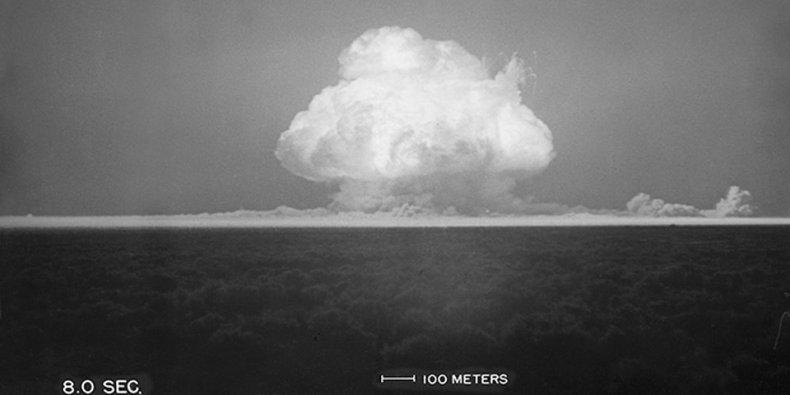 world's first atomic bomb